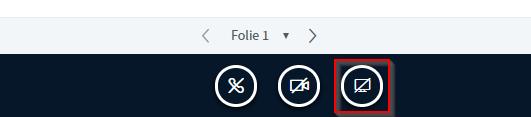 """Das Symbol """"Bildschirm freigeben"""""""